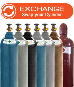 WELDING GAS EXCHANGE